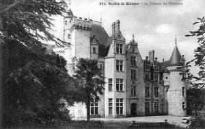 Le château du Pérennou, 1833