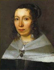 Portrait se Sibylla Merian (1679)